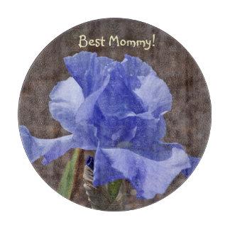 ¡La mejor mamá! el corte del vidrio de los regalos Tablas De Cortar
