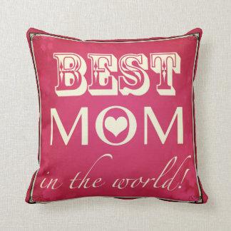 """La """"mejor mamá en almohada del mundo"""""""
