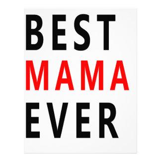 La mejor mamá Ever (3) Plantillas De Membrete