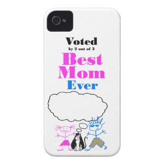 La mejor mamá iPhone 4 protectores