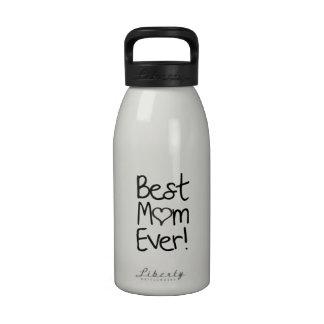 ¡La mejor mamá nunca Botella De Beber