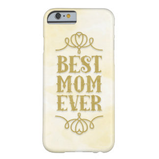 La mejor mamá nunca (amarillo) funda para iPhone 6 barely there
