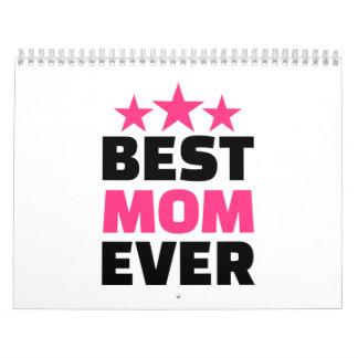 La mejor mamá nunca calendarios