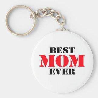 La mejor mamá nunca llavero