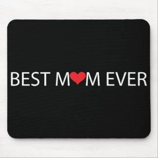 La mejor mamá nunca alfombrillas de ratones