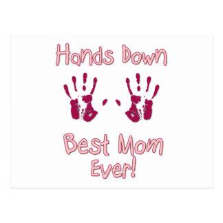 La mejor mamá nunca postales