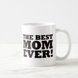 La mejor mamá nunca tazas de café
