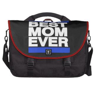 La mejor mamá siempre azul bolsas para ordenador