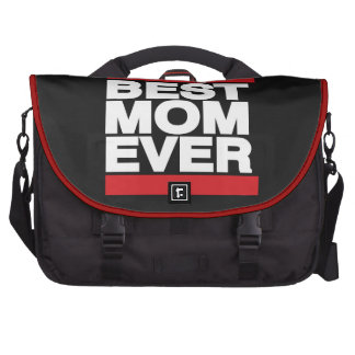 La mejor mamá siempre roja bolsas de portatil