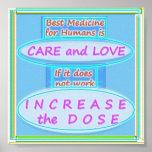 La mejor medicina: Cuidado y amor Impresiones