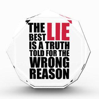 la mejor mentira