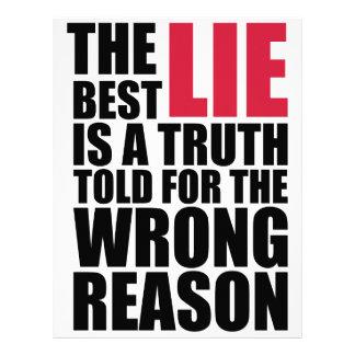 la mejor mentira membrete