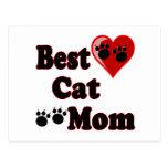 La mejor mercancía de la mamá del gato para la mad postal
