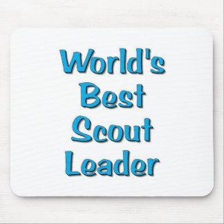 La mejor mercancía del líder del explorador del mu mousepads