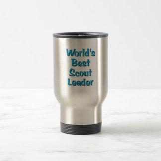 La mejor mercancía del líder del explorador del taza de viaje