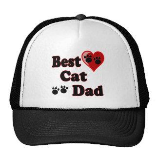 La mejor mercancía del papá del gato para el padre gorros