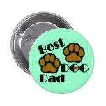 La mejor mercancía del papá del perro pin