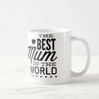 La mejor momia del mundo taza básica blanca