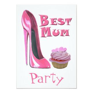 La mejor momia, invitación del fiesta con el