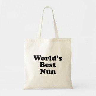 La mejor monja del mundo bolsas