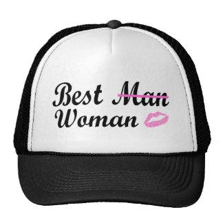 La mejor mujer gorro