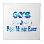 la mejor música 60s azulejos