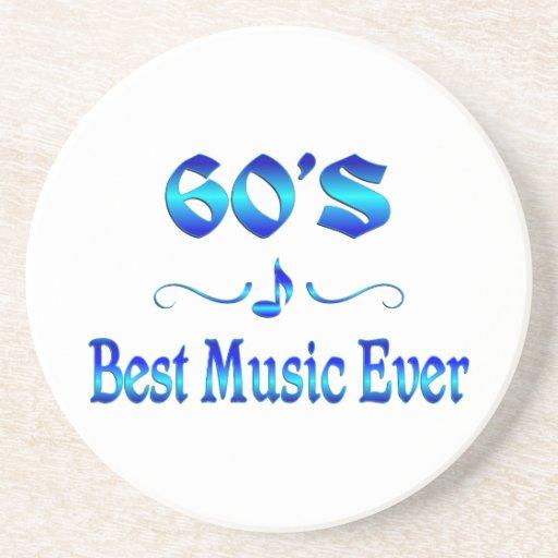la mejor música 60s posavasos manualidades