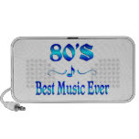 la mejor música 80s portátil altavoz