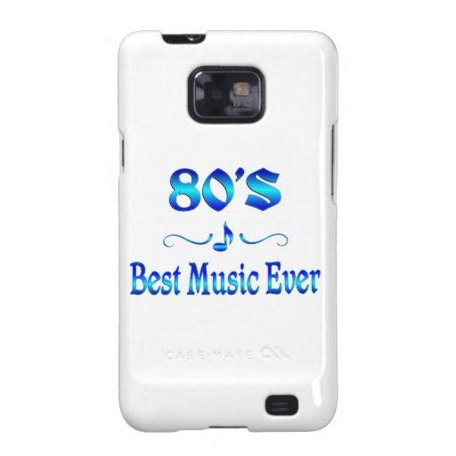 la mejor música 80s samsung galaxy s2 funda