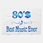la mejor música 80s toallas de cocina