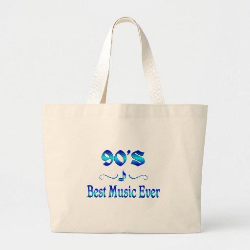la mejor música 90s bolsa de mano