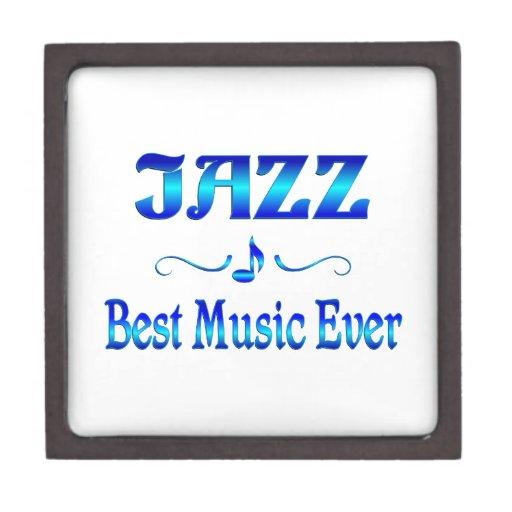 La mejor música del jazz cajas de recuerdo de calidad