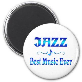 La mejor música del jazz imanes de nevera