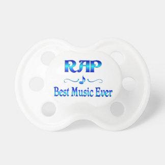 La mejor música del rap chupetes para bebés
