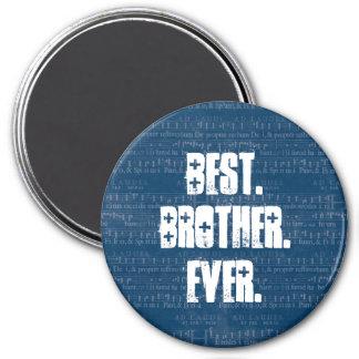 La mejor música siempre azul de BROTHER observa el Imán Redondo 7 Cm