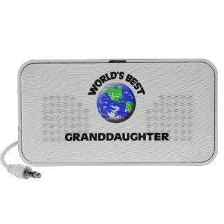 La mejor nieta del mundo altavoz de viaje