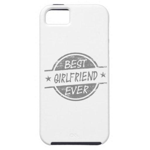 La mejor novia siempre gris funda para iPhone SE/5/5s