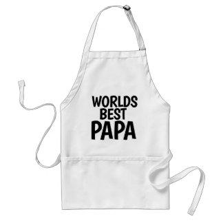 La mejor papá de los mundos delantal