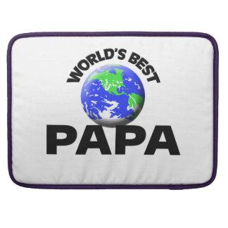 La mejor papá del mundo fundas para macbook pro