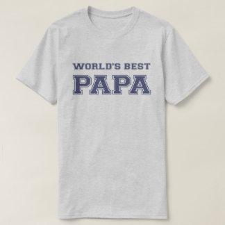 La mejor papá del mundo playera