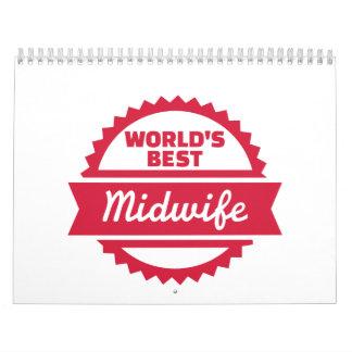 La mejor partera del mundo calendarios de pared
