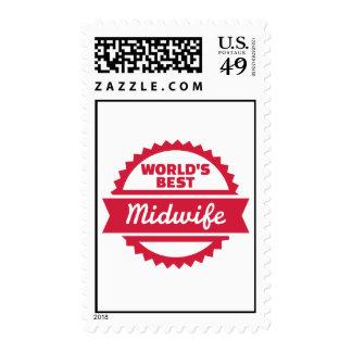 La mejor partera del mundo sellos