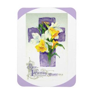 La mejor Pascua desea el imán de encargo de la fot