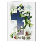 La mejor Pascua desea la tarjeta