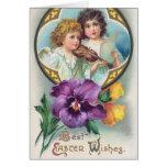 La mejor Pascua desea la tarjeta de felicitación