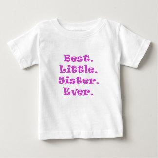 La mejor pequeña hermana nunca camisas