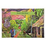 La mejor pintura de Gauguin de la bella arte de Bo Mantel