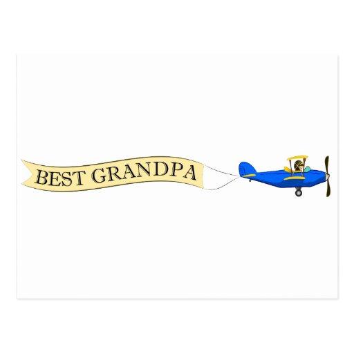 La mejor postal del biplano del abuelo