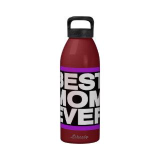 La mejor púrpura de LG de la mamá nunca Botella De Agua