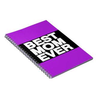 La mejor púrpura de LG de la mamá nunca Libro De Apuntes